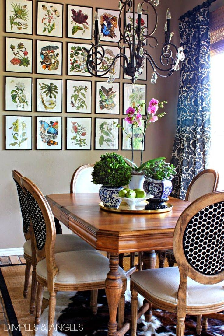 Best 25+ Dining Room Art Ideas On Pinterest | Dining Room Wall For Newest Kitchen And Dining Wall Art (View 3 of 25)