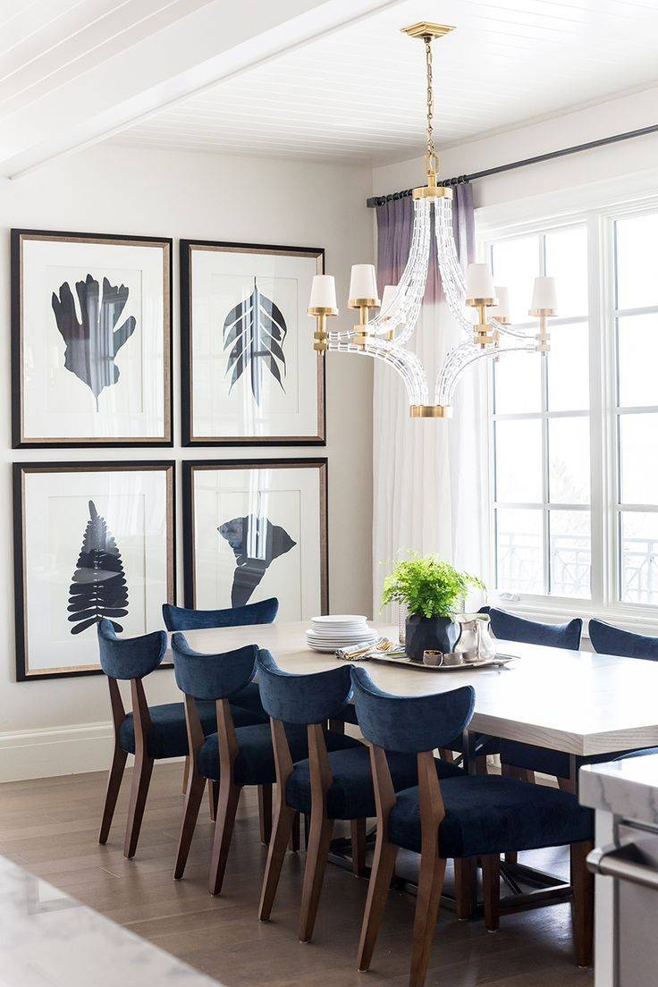 Best 25+ Dining Room Art Ideas On Pinterest | Dining Room Wall Pertaining To Most Current Blue And White Wall Art (View 3 of 20)