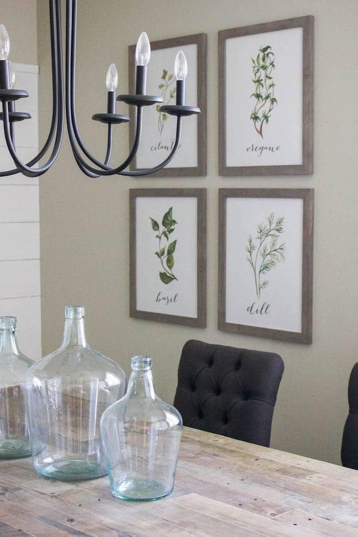 Best 25+ Dining Wall Decor Ideas On Pinterest   Dining Room Wall In 2017 Modern Wall Art For Dining Room (View 7 of 15)