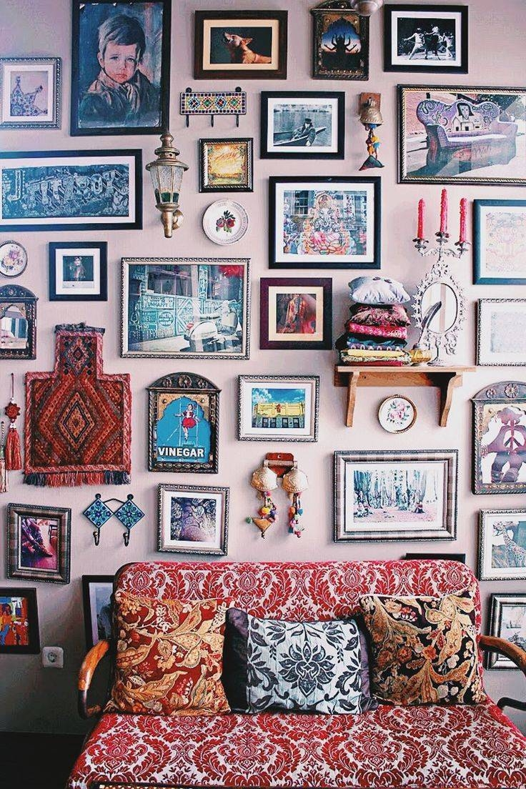 Best 25+ Eclectic Vintage Inspired Gallery Wall Ideas On Pinterest Within 2017 Vintage Style Wall Art (View 2 of 20)