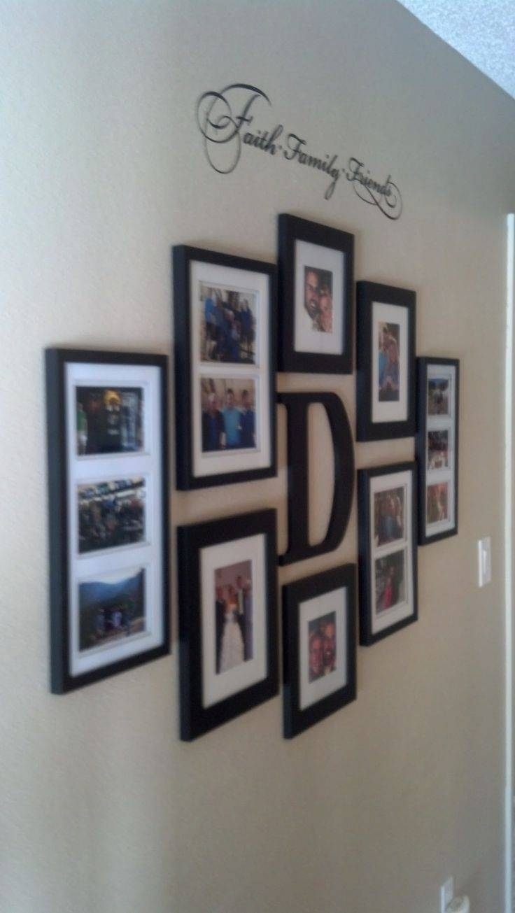 Best 25+ Family Wall Photos Ideas On Pinterest | Scandinavian Wall For 2018 Last Name Framed Wall Art (View 19 of 25)