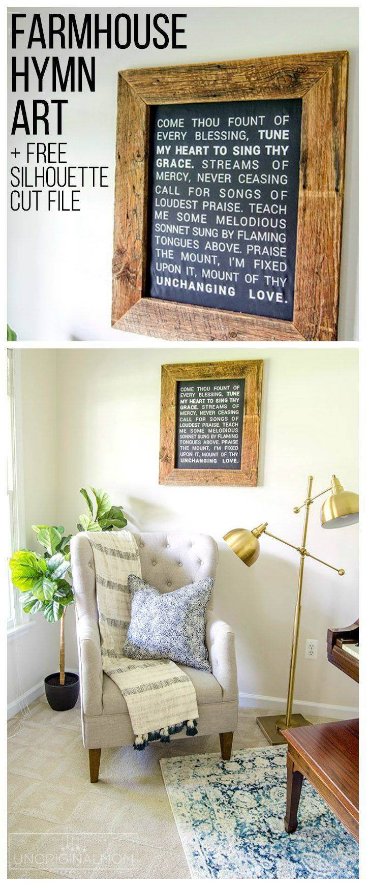 Best 25+ Farmhouse Wall Art Ideas On Pinterest | Living Room Wall In 2018 Farmhouse Wall Art (View 5 of 25)