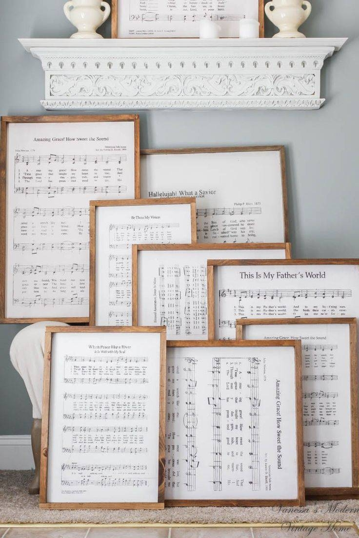 Best 25+ Farmhouse Wall Art Ideas On Pinterest | Living Room Wall Pertaining To Most Current Farmhouse Wall Art (View 4 of 25)