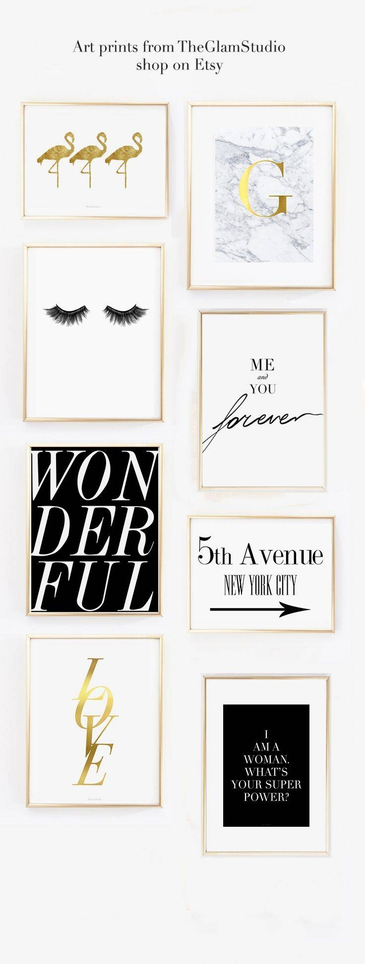 Best 25+ Fashion Wall Art Ideas On Pinterest | Fashion Prints With Regard To Latest Pinterest Wall Art Decor (View 13 of 25)