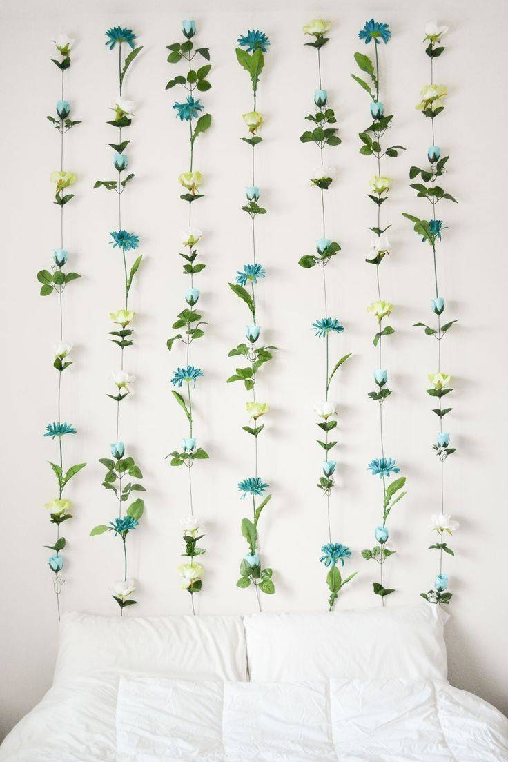 Best 25+ Flower Wall Ideas On Pinterest | Flower Wall Wedding Intended For Most Popular Floral & Plant Wall Art (View 7 of 25)