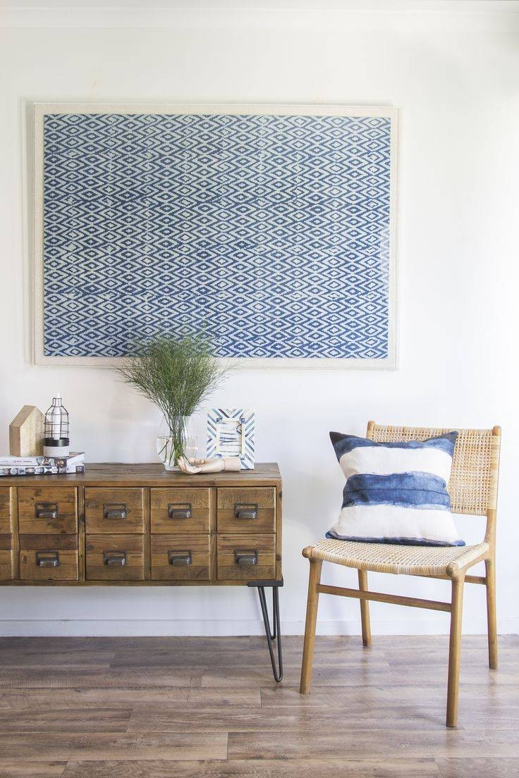 Best 25+ Framed Fabric Ideas On Pinterest | Fabric In Frames Throughout Recent Framed Fabric Wall Art (View 3 of 20)