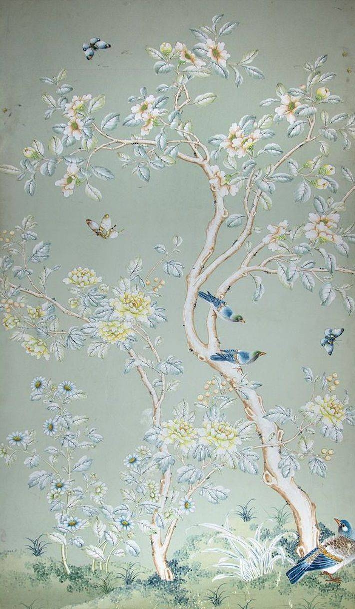 Best 25+ Gracie Wallpaper Ideas On Pinterest | Chinoiserie With Regard To Most Up To Date Chinoiserie Wall Art (View 9 of 30)