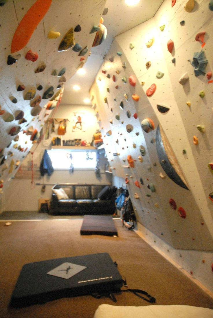 Best 25+ Home Climbing Wall Ideas On Pinterest | Climbing Wall With Latest Home Bouldering Wall Design (View 11 of 20)