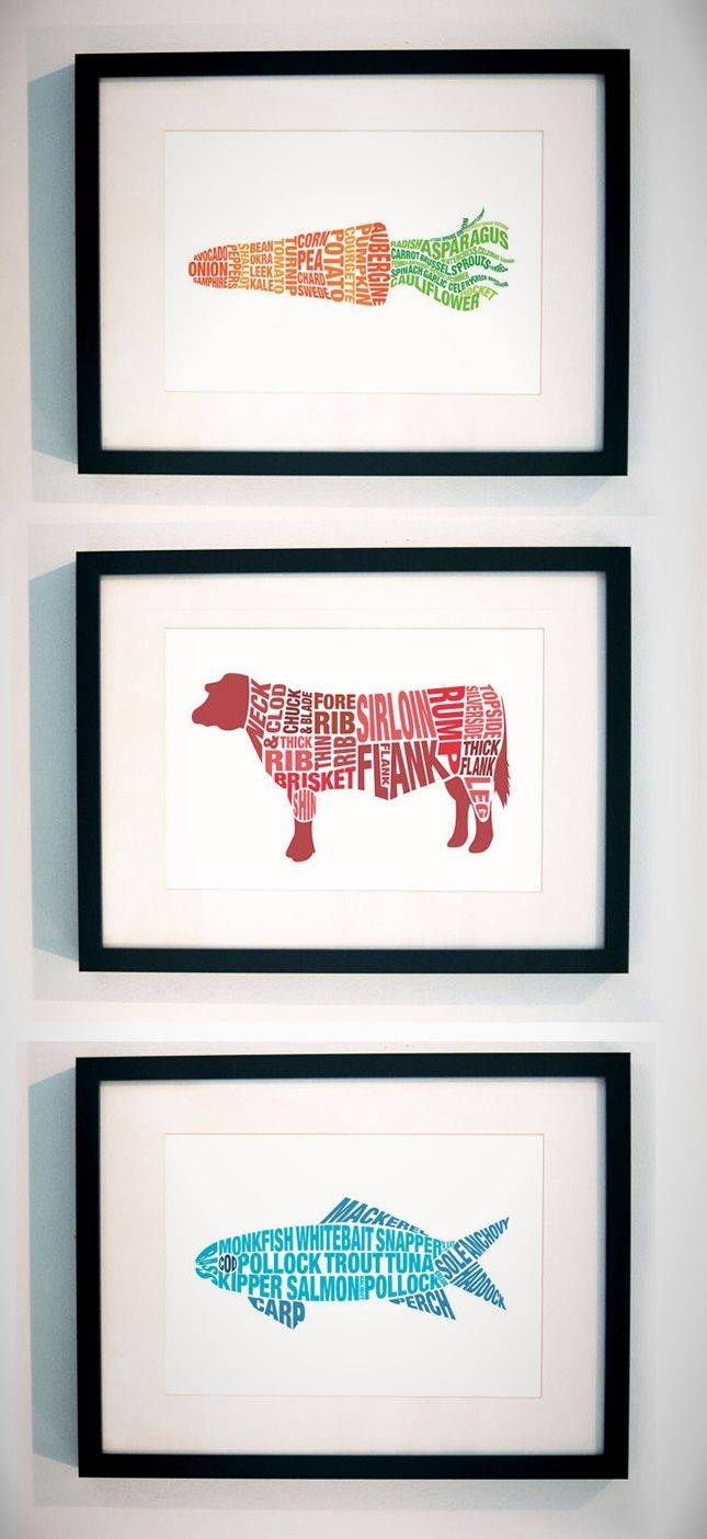 Best 25+ Kitchen Art Ideas On Pinterest | Kitchen Prints, Dining Within Recent Kitchen Wall Art (View 21 of 25)