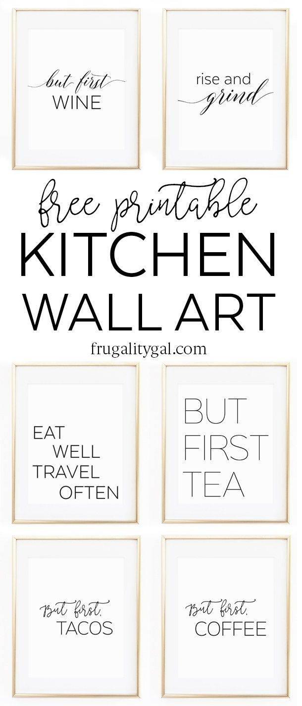 Best 25+ Kitchen Wall Art Ideas On Pinterest | Kitchen Prints Inside Latest Kitchen Wall Art (View 14 of 25)