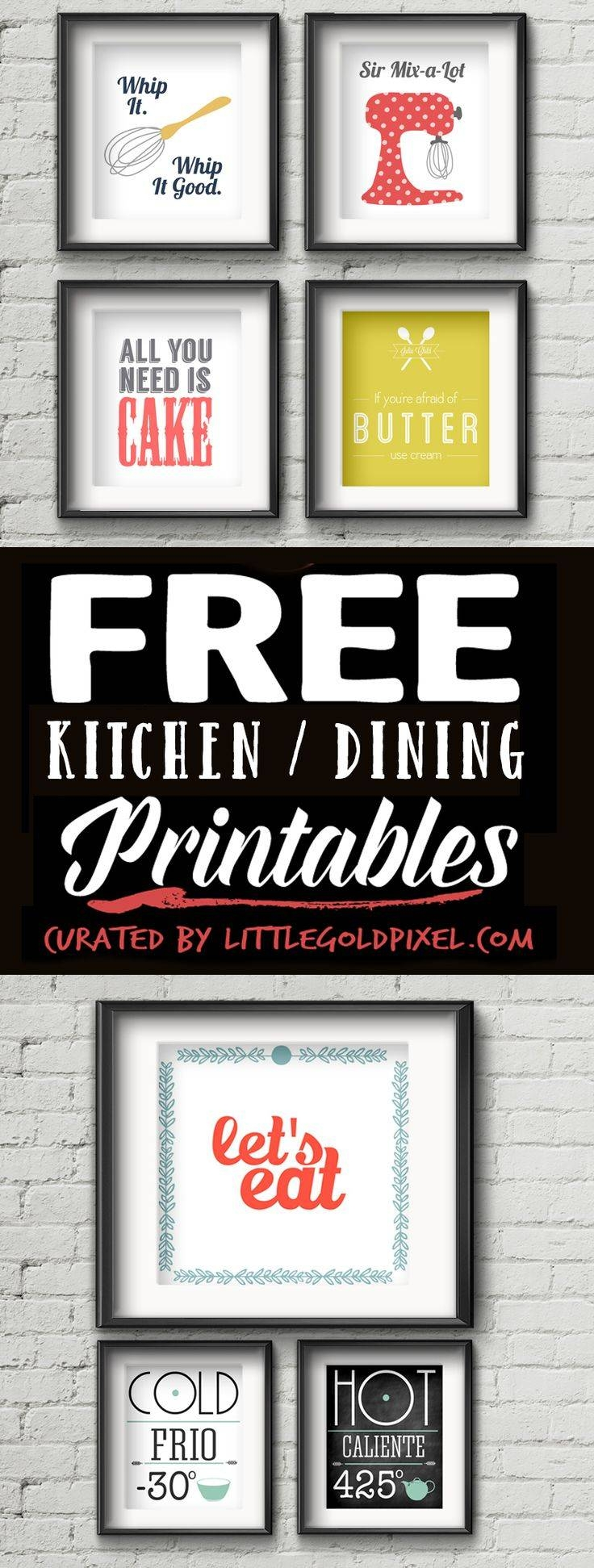Best 25+ Kitchen Wall Art Ideas On Pinterest | Kitchen Prints Pertaining To Current Wall Art For Kitchens (View 2 of 20)