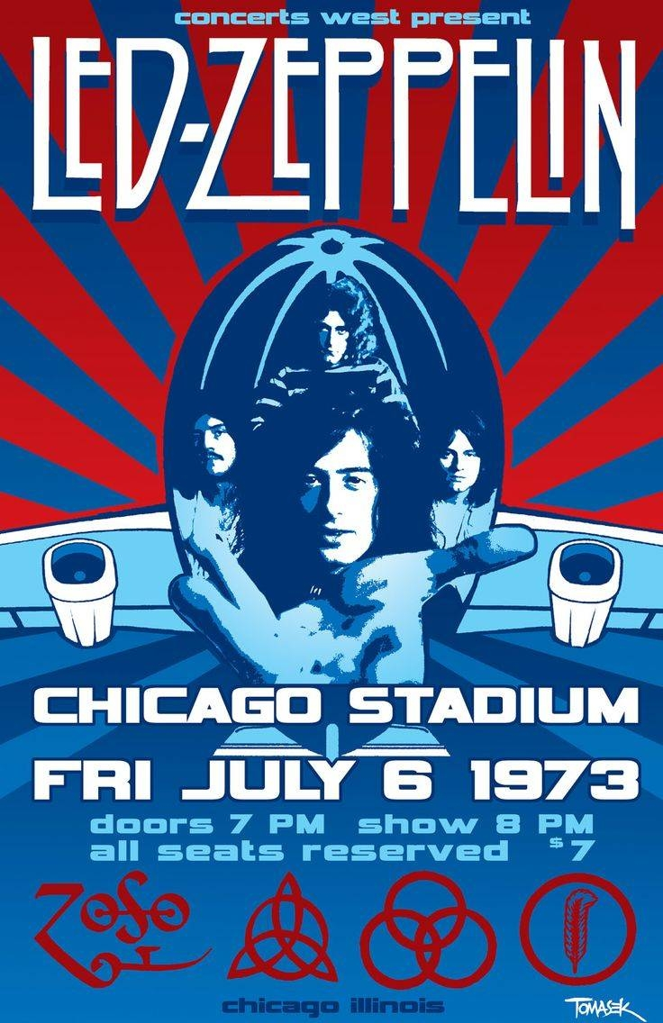 Best 25+ Led Zeppelin Album Covers Ideas On Pinterest | Rock Album Pertaining To Most Recent Led Zeppelin 3d Wall Art (View 10 of 20)