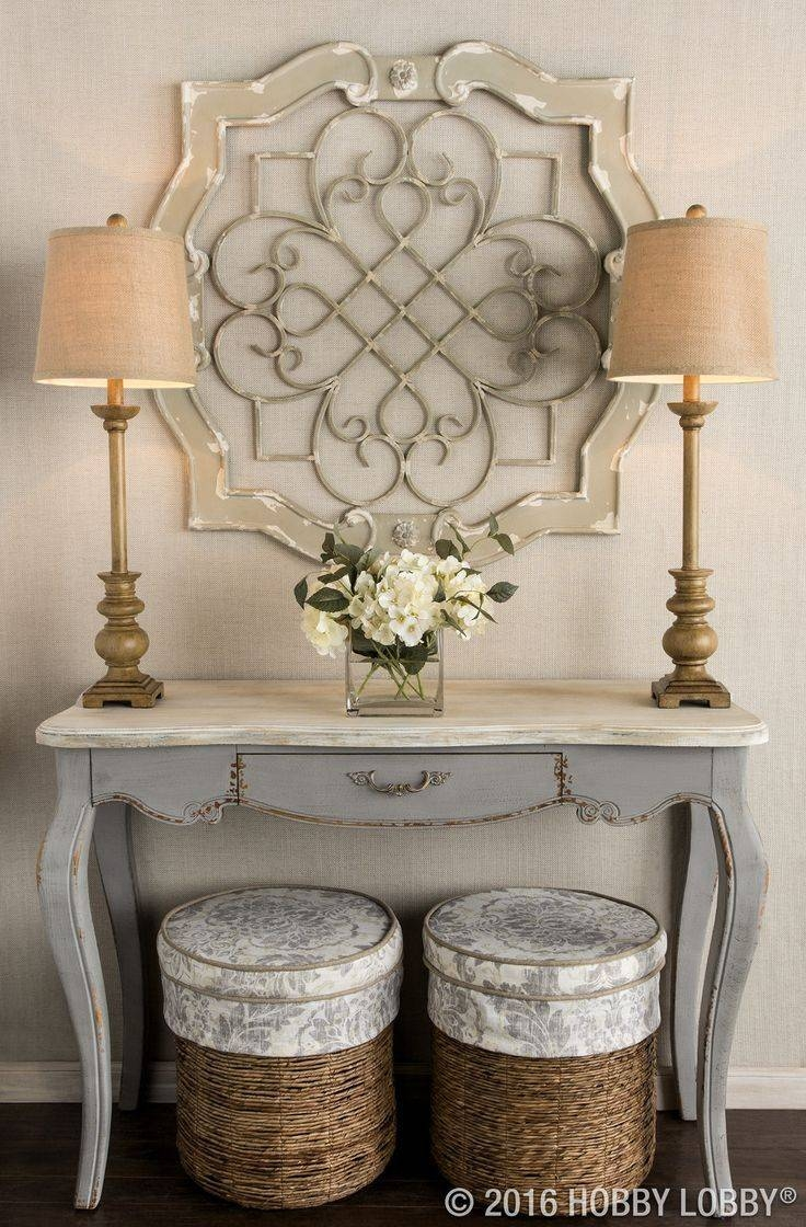 Best 25+ Metal Wall Decor Ideas On Pinterest | Wrought Iron Wall With Most Current Cream Metal Wall Art (View 6 of 20)