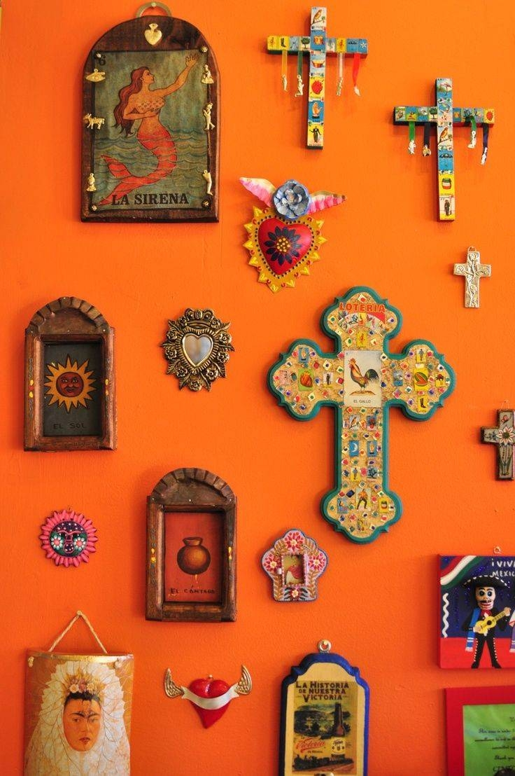 Best 25+ Mexican Home Decor Ideas On Pinterest | Mexican Style Inside Newest Mexican Metal Yard Wall Art (View 4 of 30)