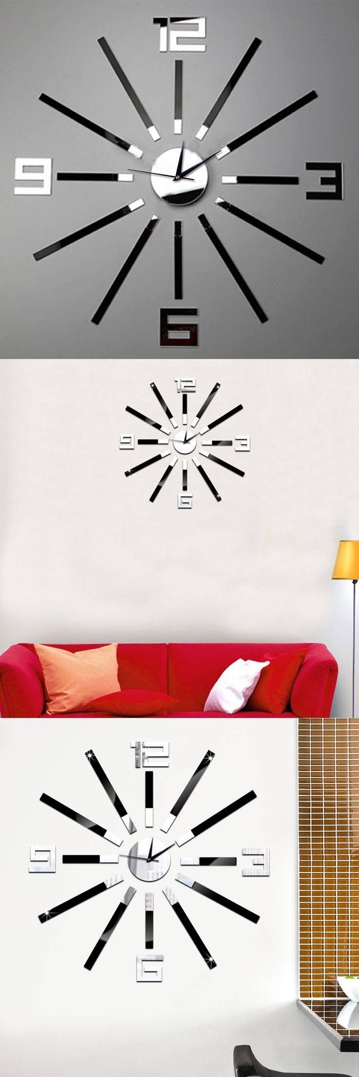 Best 25+ Mirror Wall Clock Ideas On Pinterest | Unique Wall Clocks Inside Most Popular Italian Ceramic Wall Clock Decors (View 2 of 25)