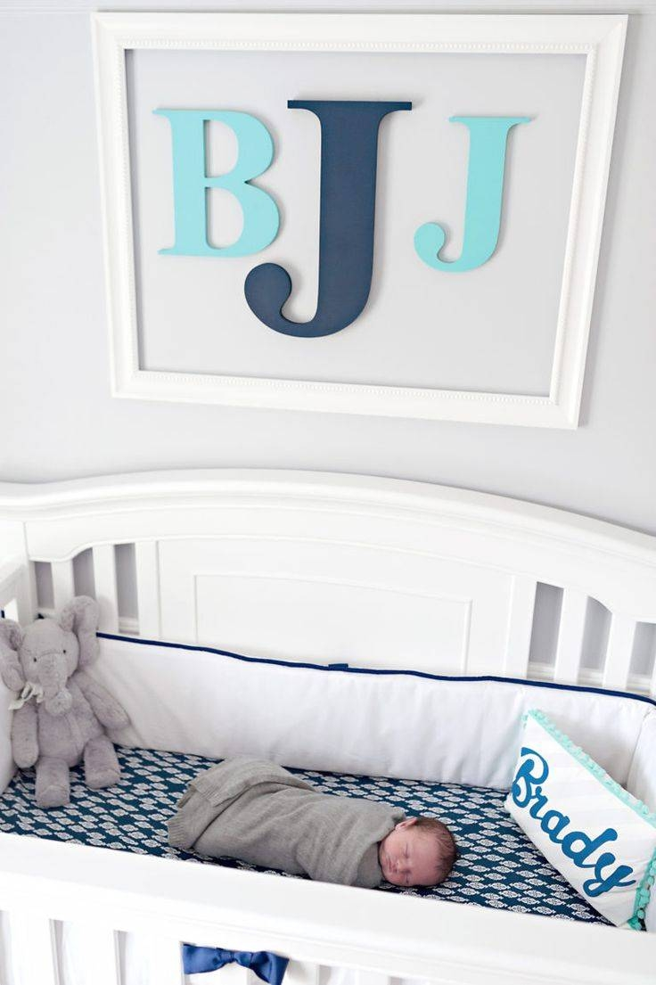 Best 25+ Monogram Wall Decorations Ideas On Pinterest | Baby Room Within Most Popular Framed Monogram Wall Art (View 6 of 20)
