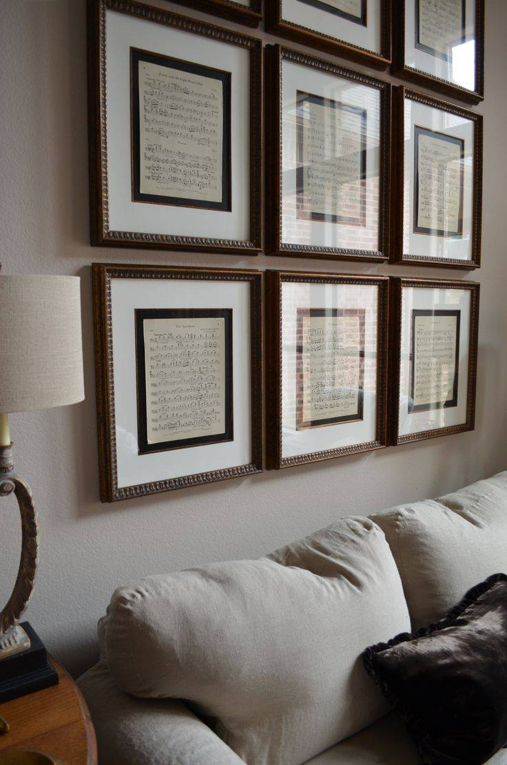Best 25+ Music Wall Decor Ideas On Pinterest | Music Flower In Most Up To Date Music Theme Wall Art (View 12 of 30)