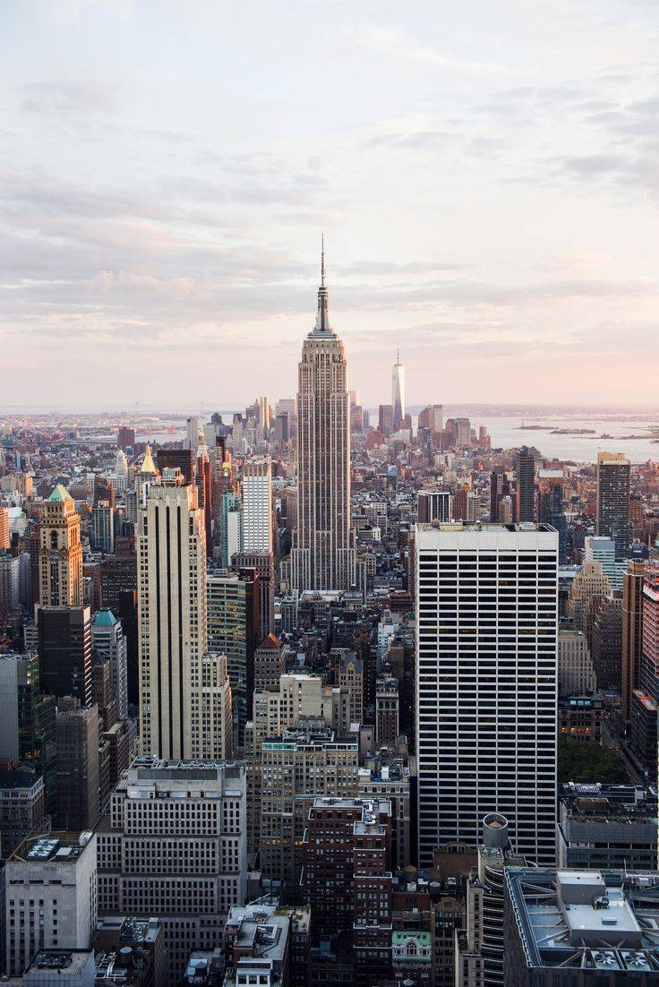 Best 25+ New York Skyline Ideas On Pinterest | Nyc Skyline For Most Popular New York Skyline Canvas Black And White Wall Art (View 12 of 20)