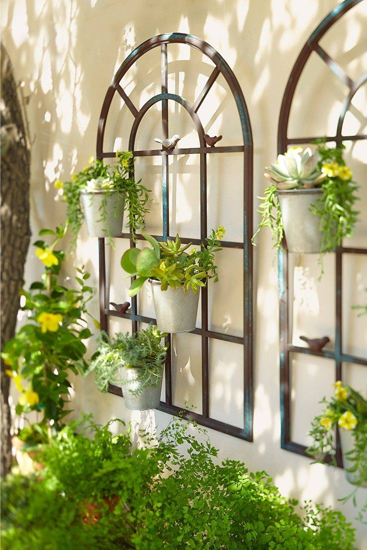 Best 25+ Outdoor Wall Planters Ideas On Pinterest | Indoor With 2018 Floral & Plant Wall Art (View 10 of 25)