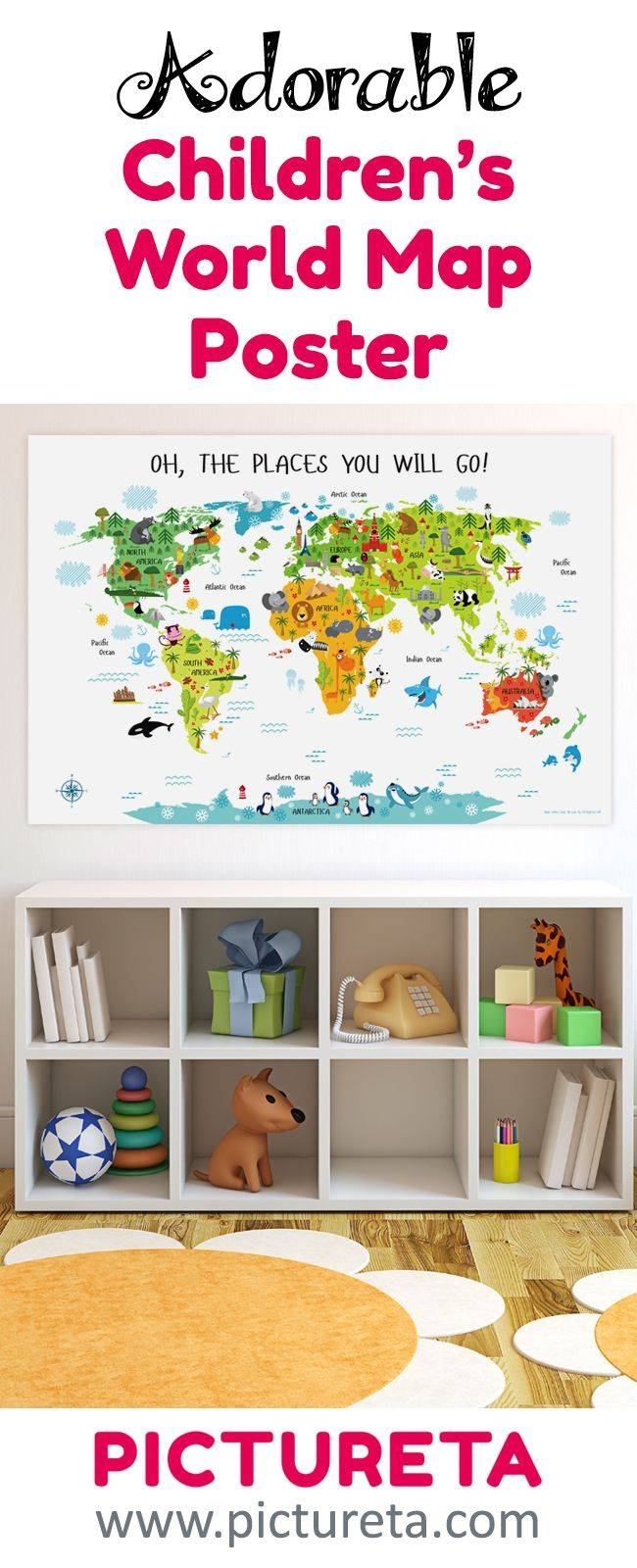 Best 25+ Playroom Art Ideas On Pinterest | Playrooms, Playroom Regarding Most Recently Released Playroom Wall Art (View 6 of 30)