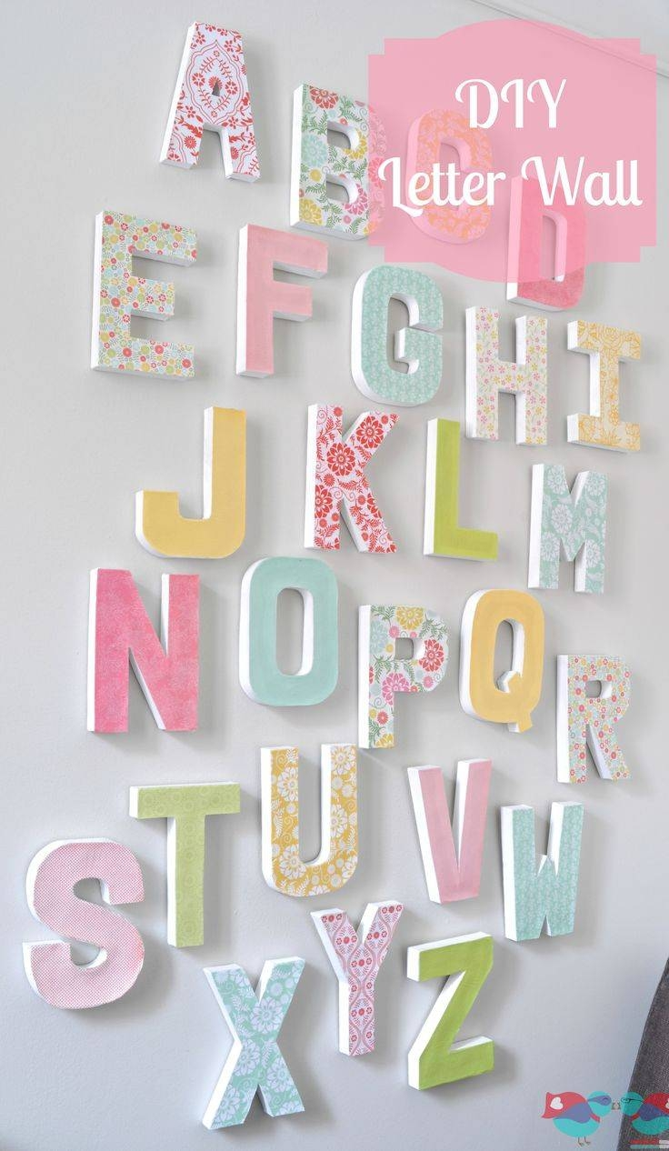 Best 25+ Playroom Wall Decor Ideas On Pinterest | Playroom Decor For Most Recently Released Wall Art For Playroom (View 8 of 30)