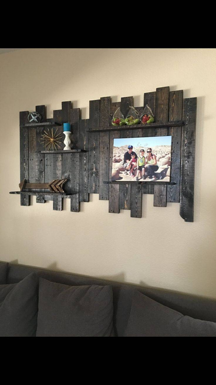 Best 25+ Reclaimed Wood Walls Ideas On Pinterest | Wood Walls With Regard To Current Dark Wood Wall Art (View 2 of 15)