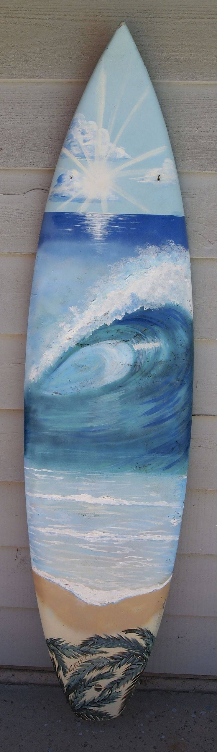 Best 25+ Surfboard Decor Ideas On Pinterest | Used Surfboards With Best And Newest Decorative Surfboard Wall Art (View 6 of 25)
