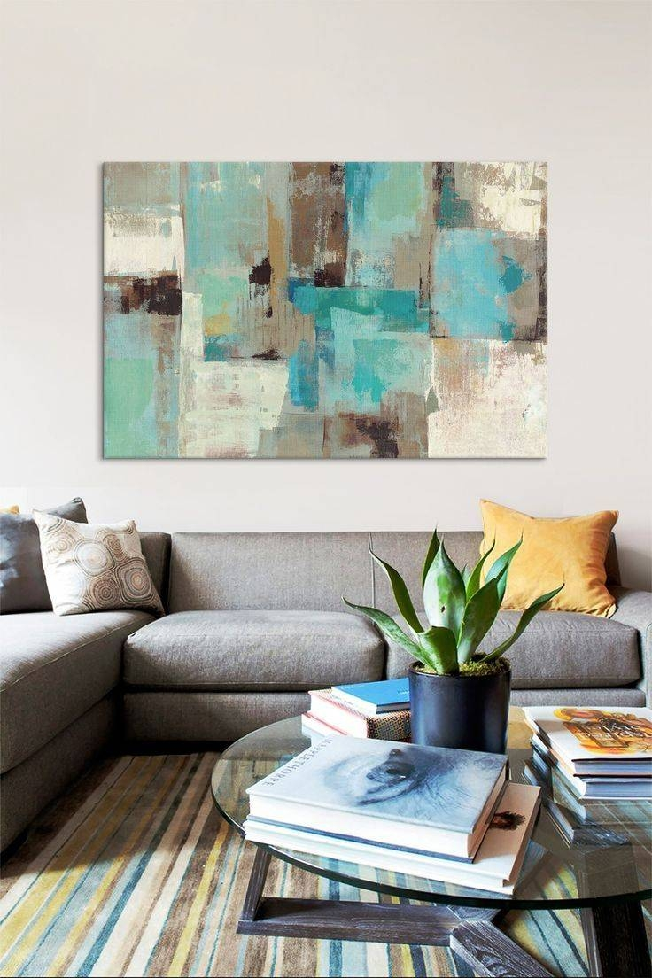 Best 25+ Teal Wall Art Ideas On Pinterest | Turquoise, Light Teal Regarding Latest Large Teal Wall Art (View 6 of 20)