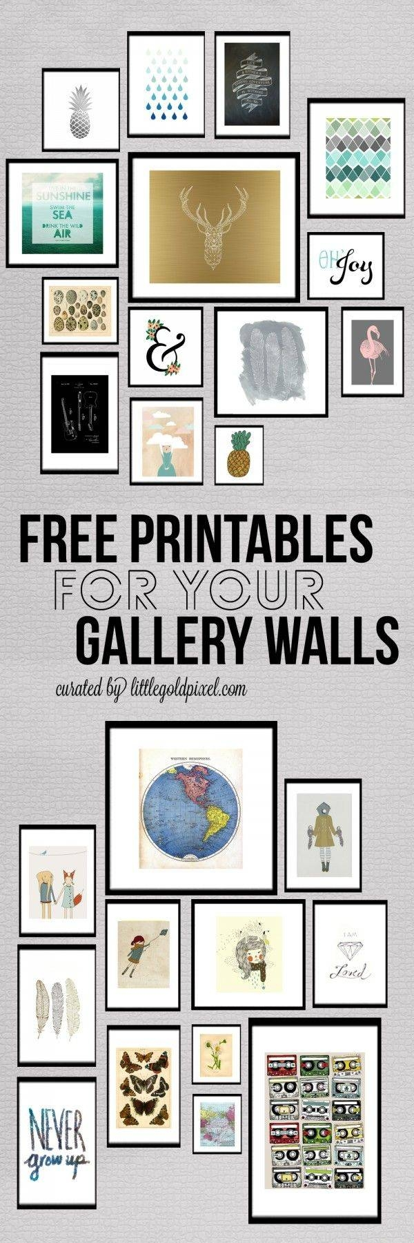 Best 25+ Teen Wall Decor Ideas On Pinterest | Bedroom Design For With Regard To 2017 Wall Art For Teenagers (View 20 of 25)