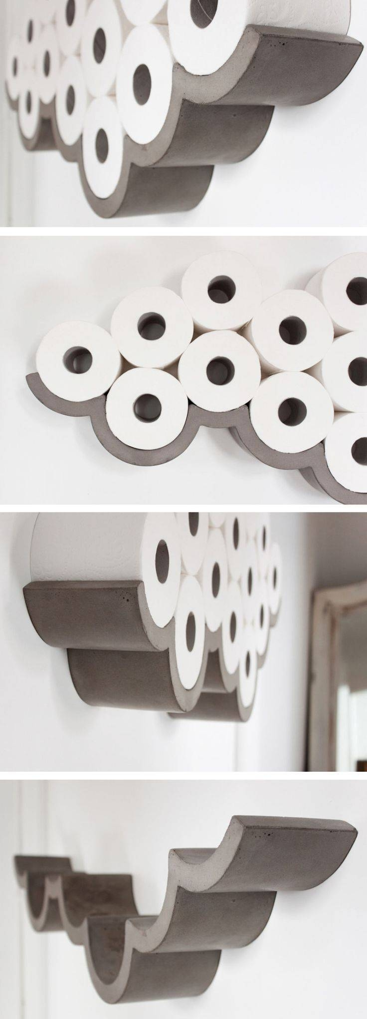 Best 25+ Toilet Paper Storage Ideas On Pinterest | Half Bathroom Regarding Recent 3D Clouds Out Of Paper Wall Art (View 16 of 25)