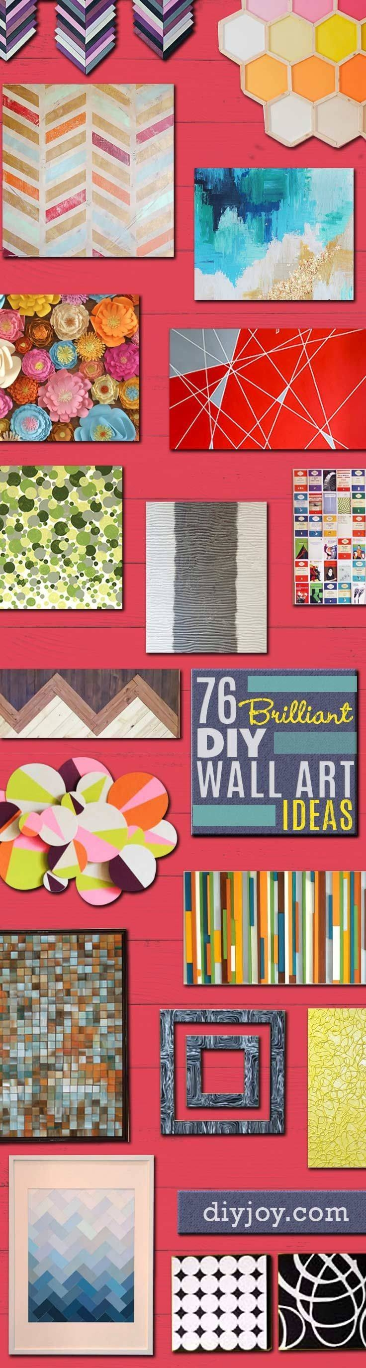 Best 25+ Wall Art Decor Ideas On Pinterest | Art Decor, Home Wall Inside Most Recently Released Pinterest Wall Art Decor (View 19 of 25)