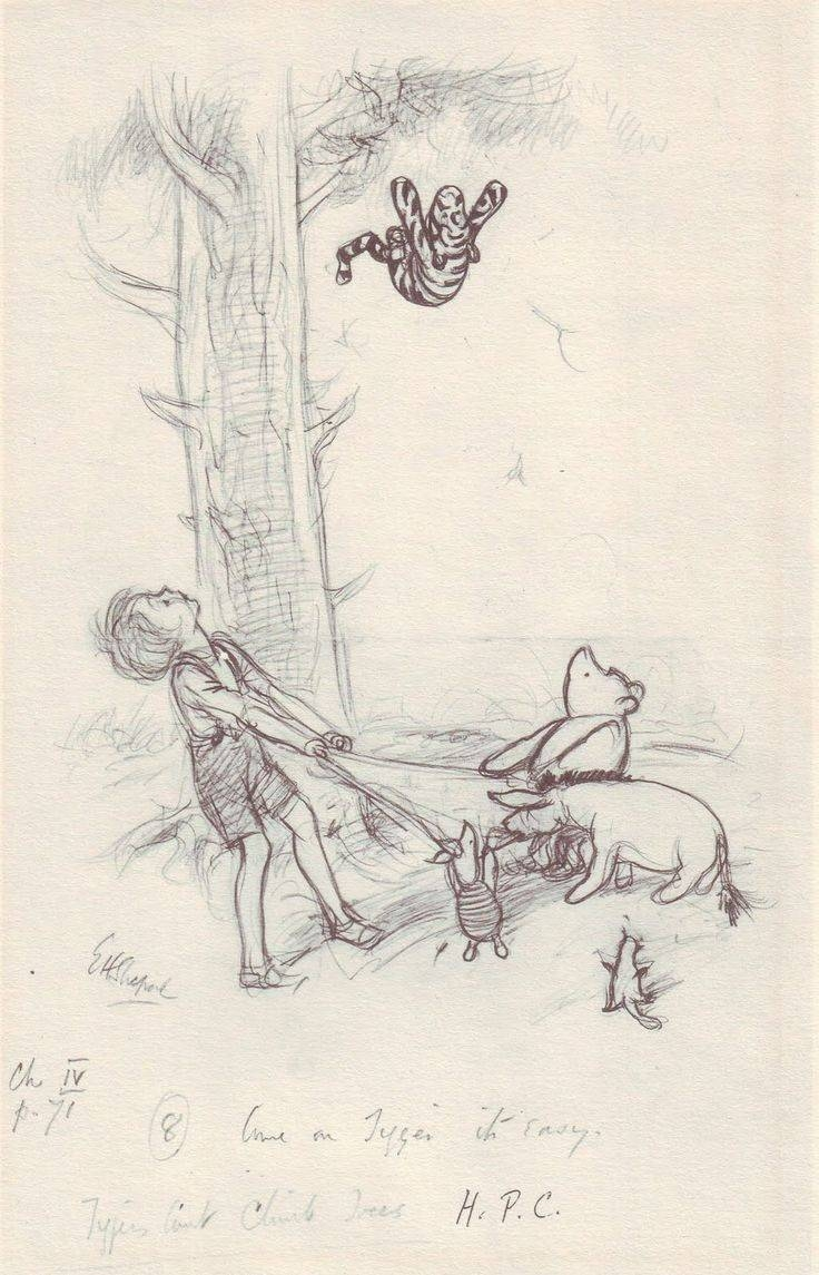 Best 25+ Winnie The Pooh Drawing Ideas On Pinterest | Whinnie The For Most Recently Released Classic Pooh Art (View 7 of 20)