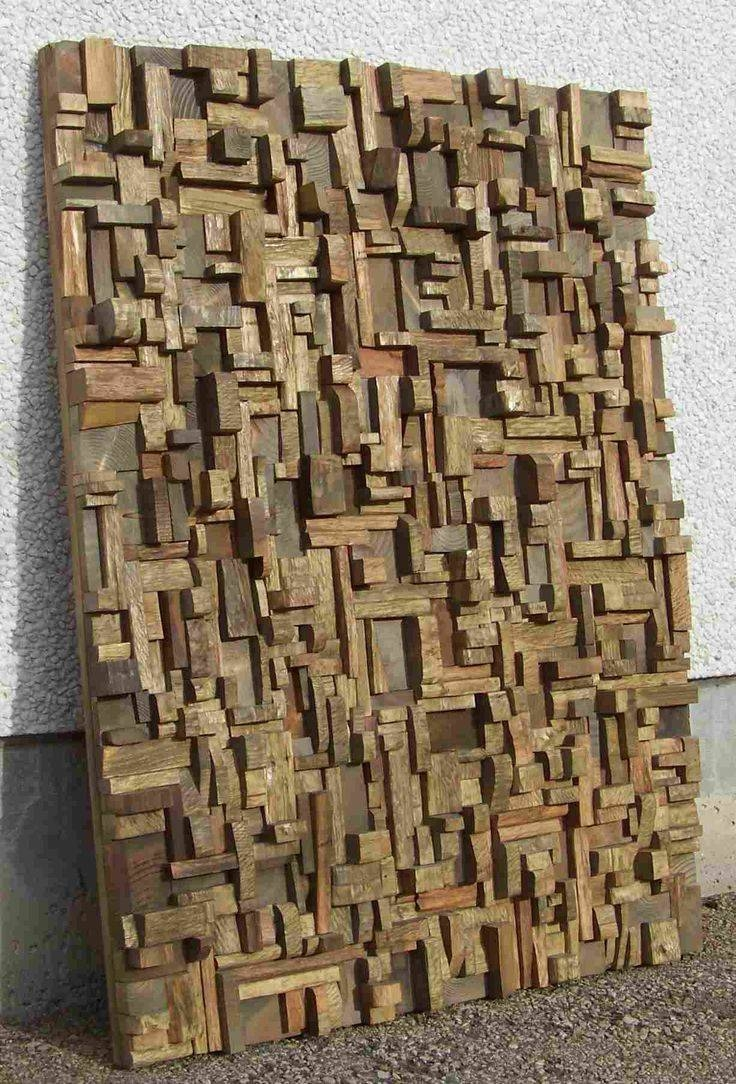 Best 25+ Wood Wall Art Ideas On Pinterest | Wood Art, Geometric With Regard To Newest Large Driftwood Wall Art (View 12 of 30)