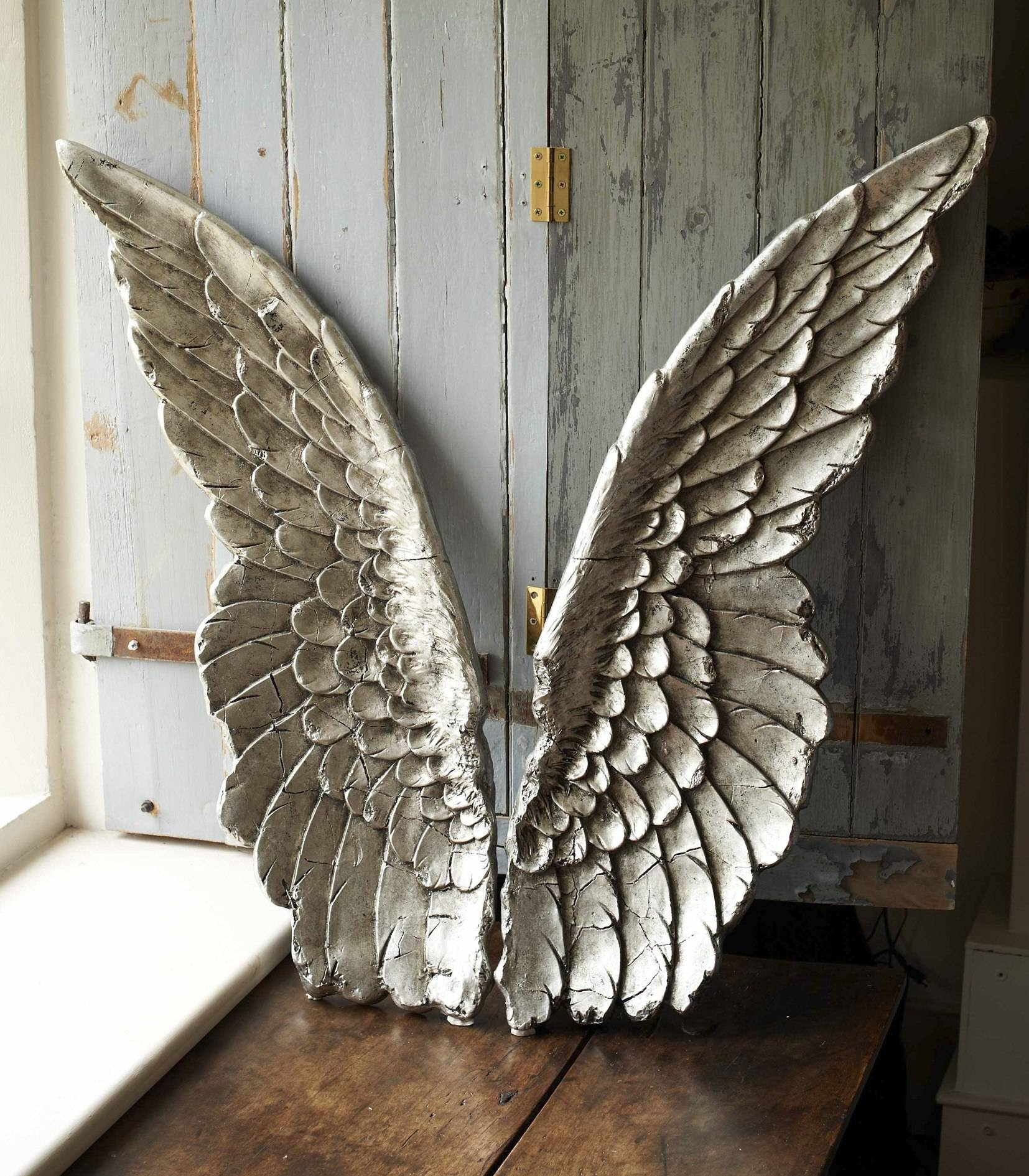 Best Angel Wings Wall Decor : Garnish With Angel Wings Wall Decor Regarding Most Up To Date Angel Wings Wall Art (View 2 of 20)