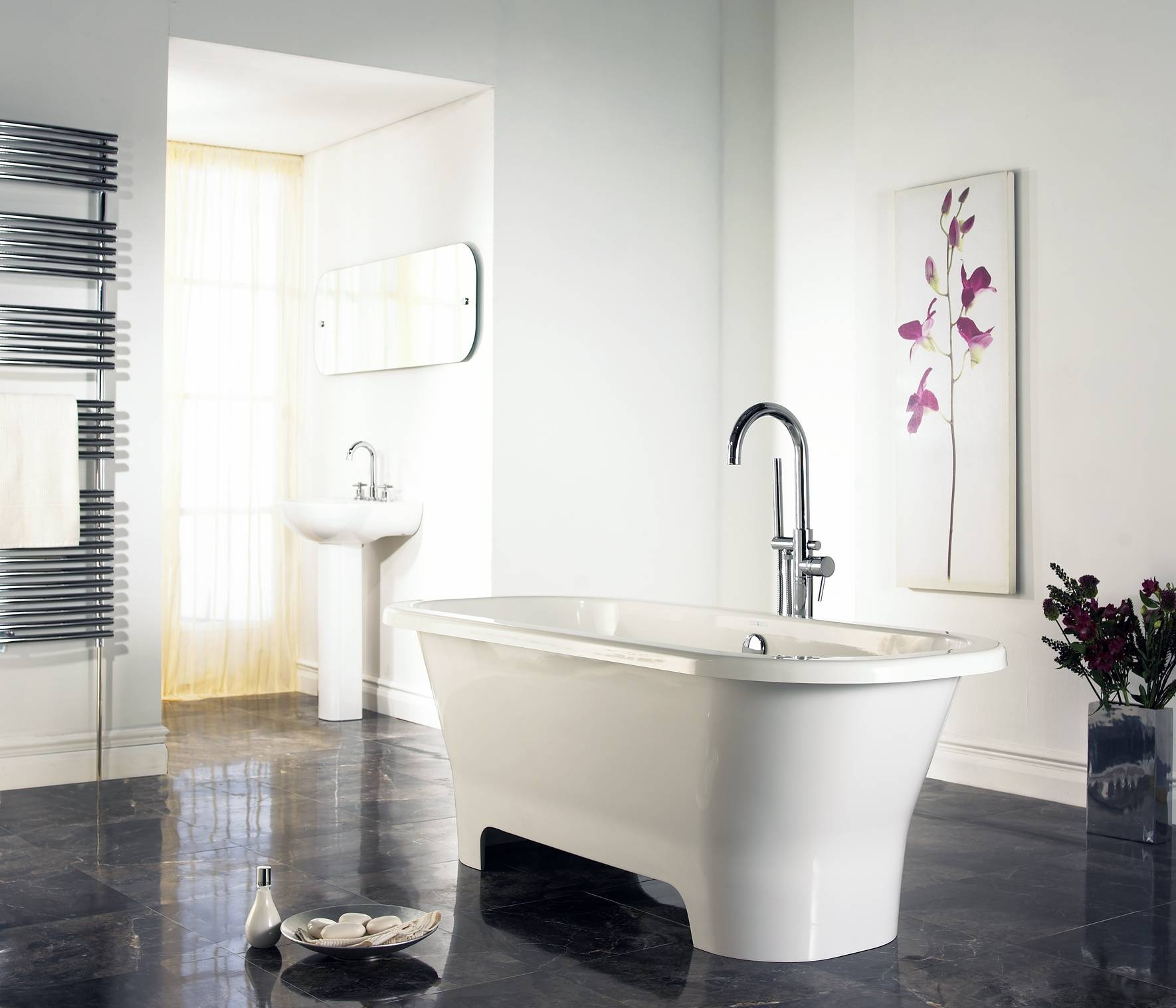 Best Decorating In Contemporary Bathroom Interior Design Ideas In Intended For Most Recently Released Contemporary Bathroom Wall Art (View 13 of 20)