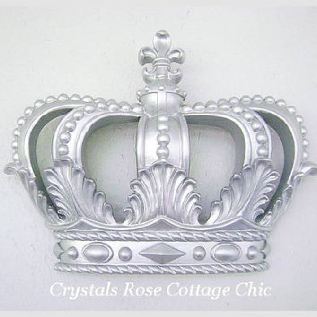 Best Princess Crown Wall Decor Products On Wanelo Wall Crowns Pertaining To Most Current 3d Princess Crown Wall Art Decor (View 2 of 20)