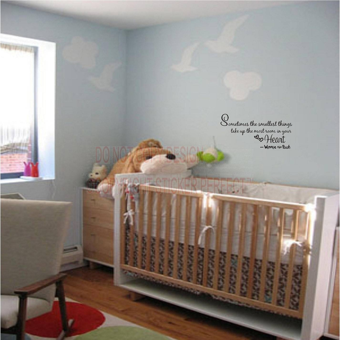 Best Sellers Regarding Latest Winnie The Pooh Nursery Quotes Wall Art (View 18 of 20)