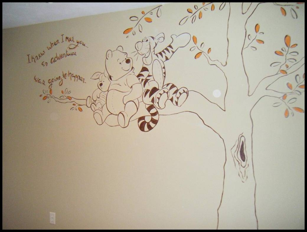 Best Winnie The Pooh Wall Decals Design : Winnie The Pooh Wall In Most Recent Winnie The Pooh Wall Decor (View 1 of 20)
