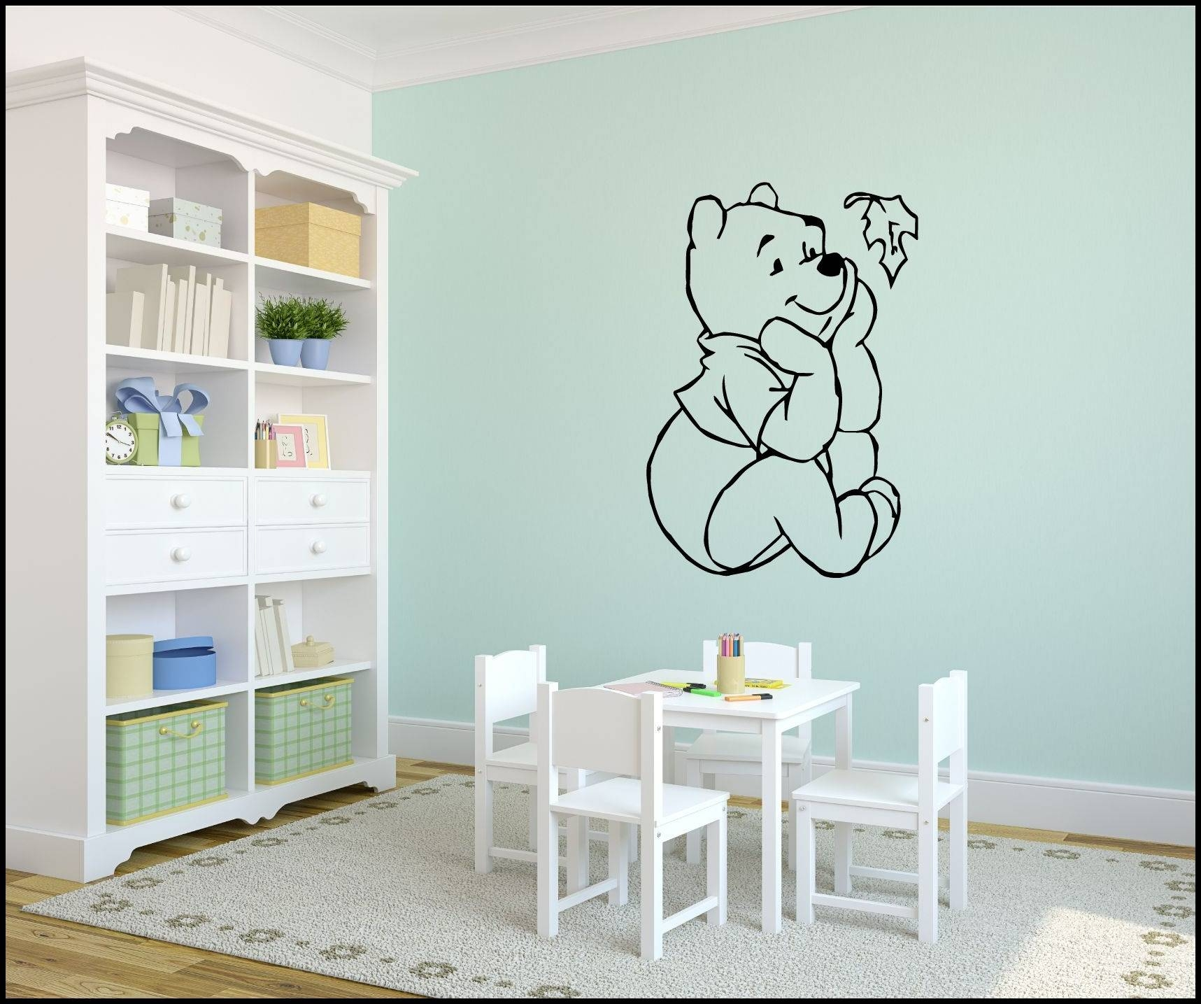 Best Winnie The Pooh Wall Decals Ideas : Winnie The Pooh Wall Regarding Current Winnie The Pooh Wall Decor (View 2 of 20)