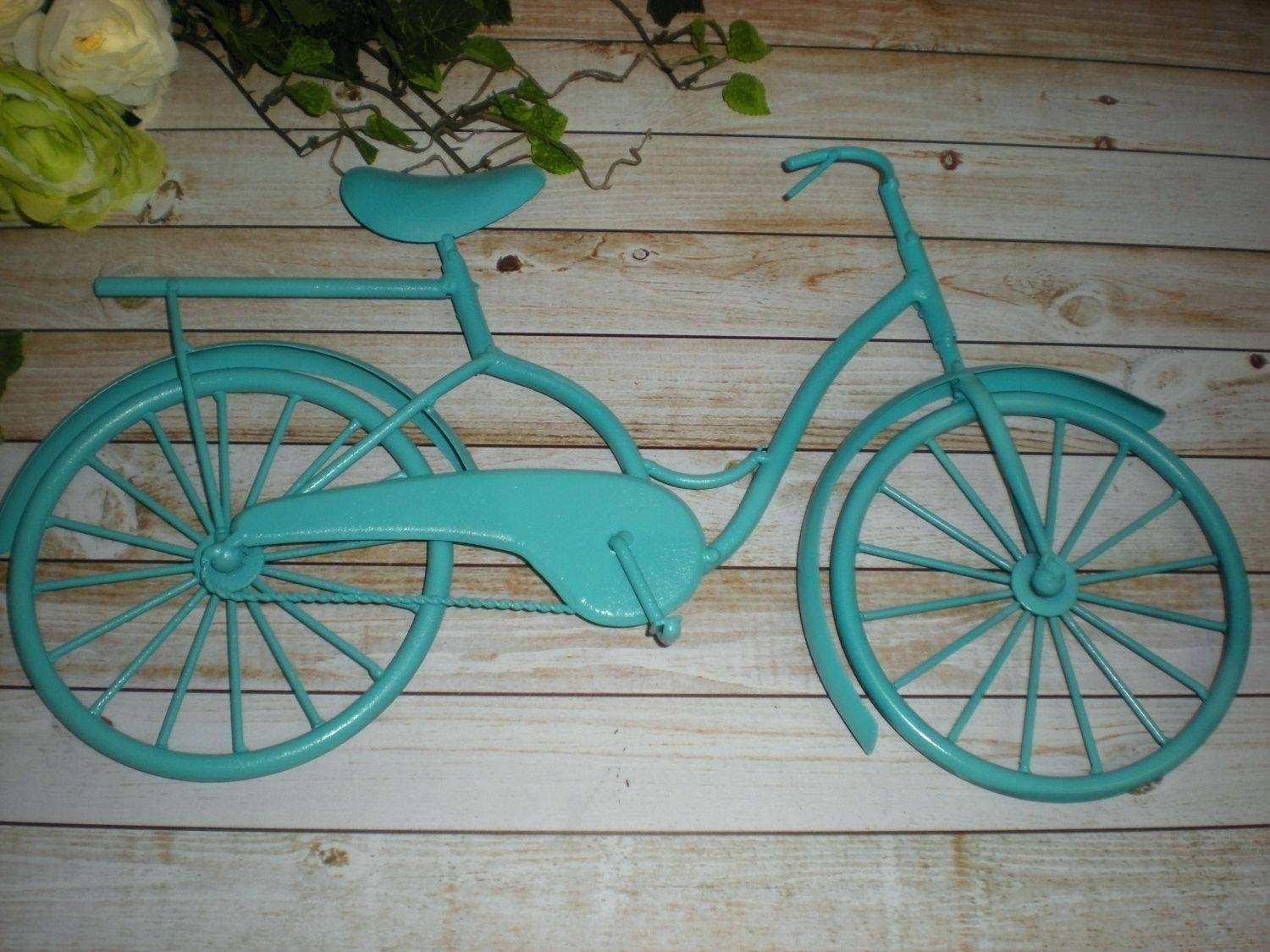 Bike Hanging Ideas Diy Bike Hanging Ideas Decoration Wall Hanger With Newest Seaside Metal Wall Art (View 3 of 15)