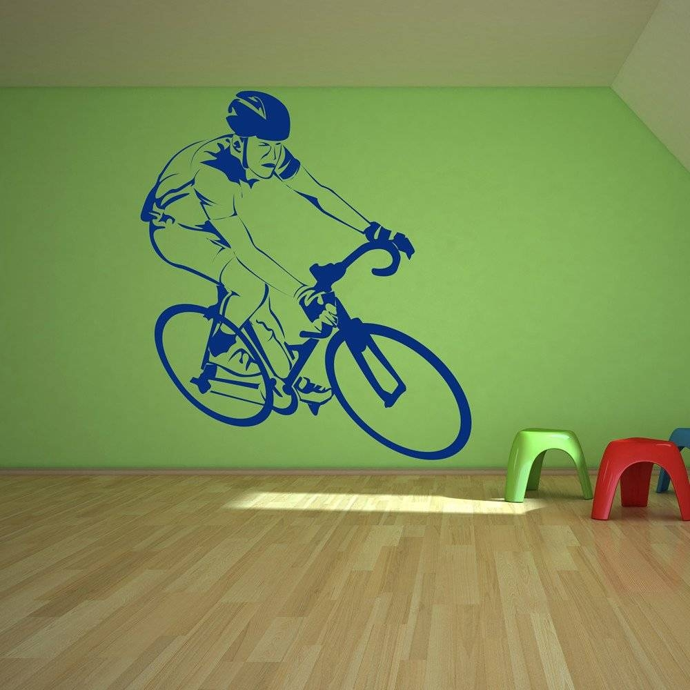 Bike Wall Stickers | Iconwallstickers.co (View 6 of 25)