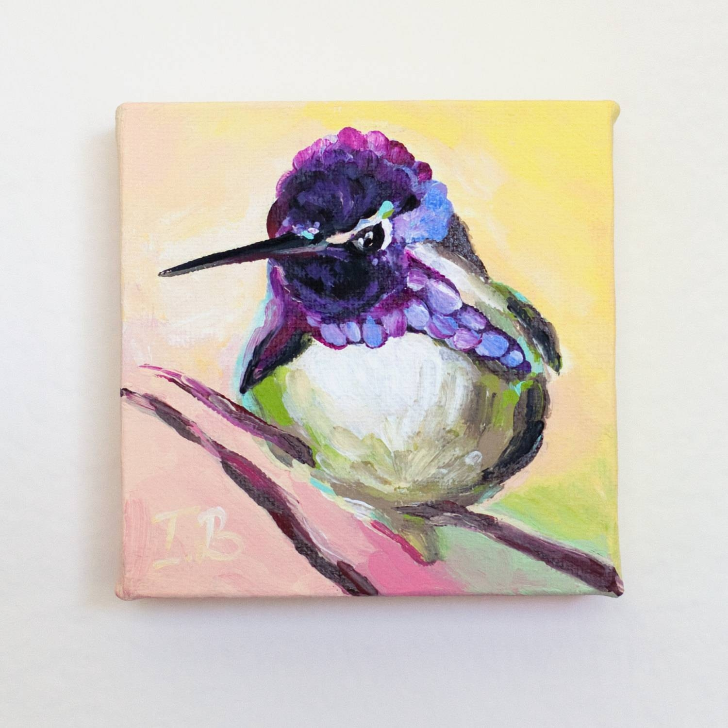 Bird Canvas Wall Art – Wall Murals Ideas Throughout Best And Newest Small Canvas Wall Art (View 15 of 20)