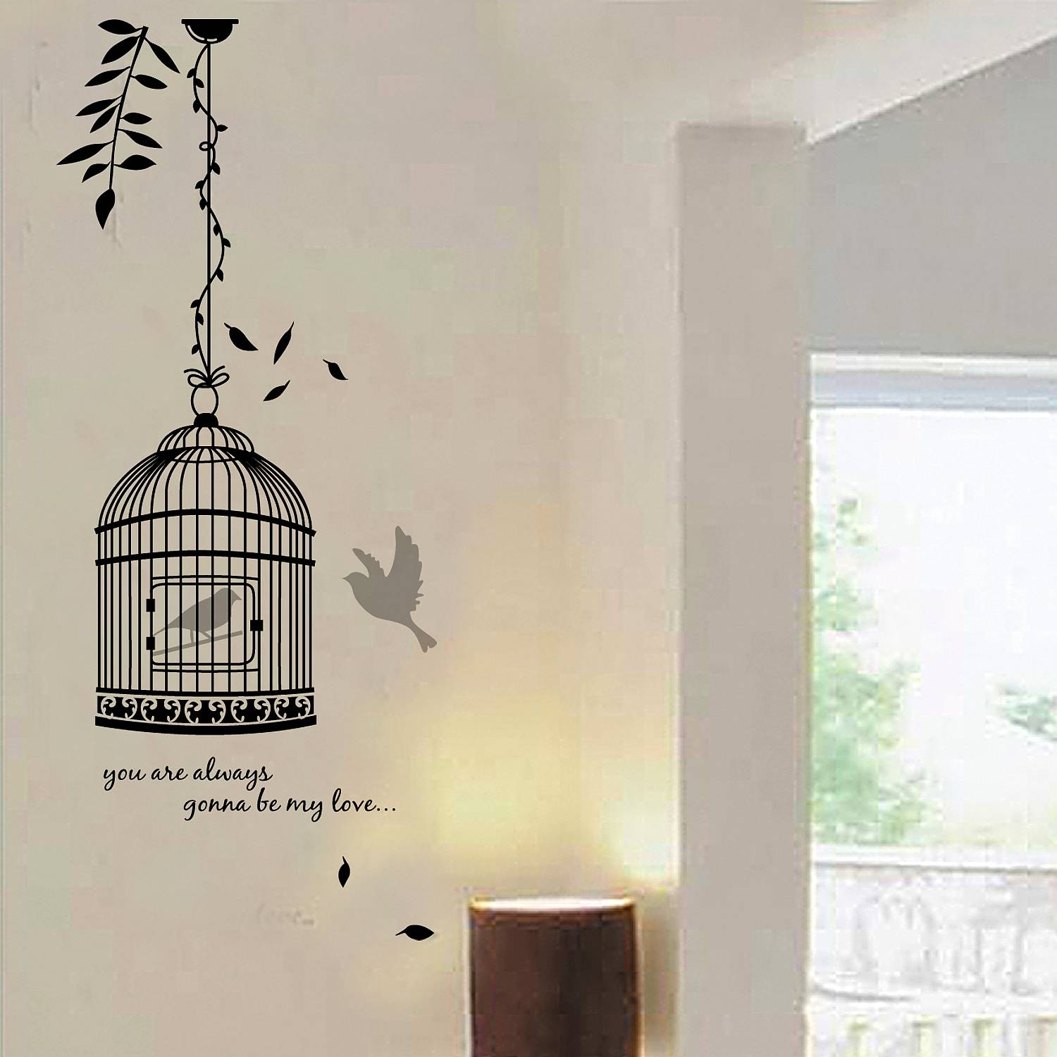 Birdcage Wall Stickers – Wall Murals Ideas Throughout Newest Metal Birdcage Wall Art (View 13 of 15)