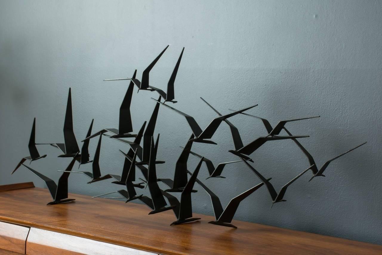 Birds In Flight Metal Wall Art – Wall Murals Ideas Inside Best And Newest Flying Birds Metal Wall Art (View 3 of 25)