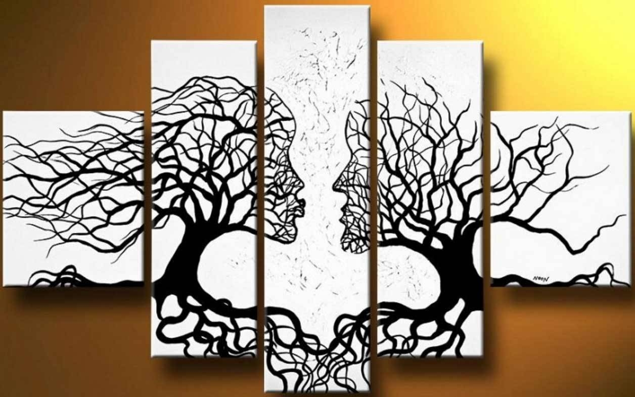 Black And White Wall Art Sets Ideas | Home Interior & Exterior Regarding Most Popular Black And White Wall Art Sets (View 5 of 20)