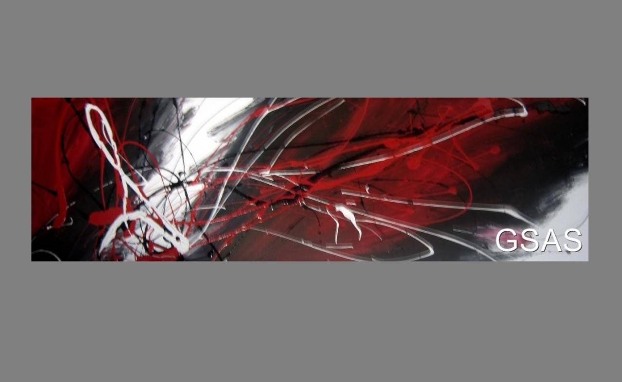 Black White And Red Canvas Art 2017 – Grasscloth Wallpaper Throughout Most Popular Black And White Wall Art With Red (View 6 of 25)