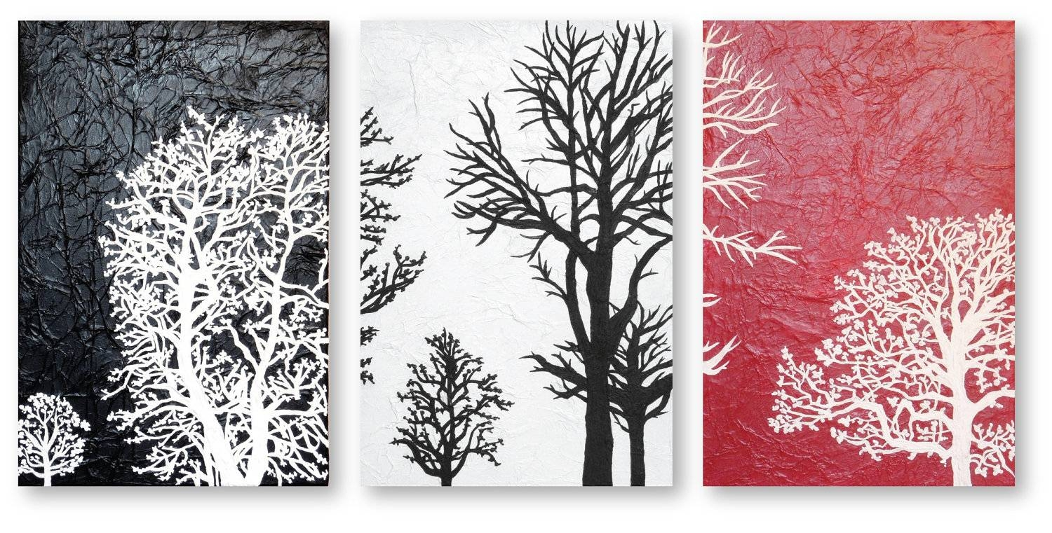 Black White And Red Wall Art 2017 – Grasscloth Wallpaper Inside Most Recently Released Black White And Red Wall Art (View 18 of 20)