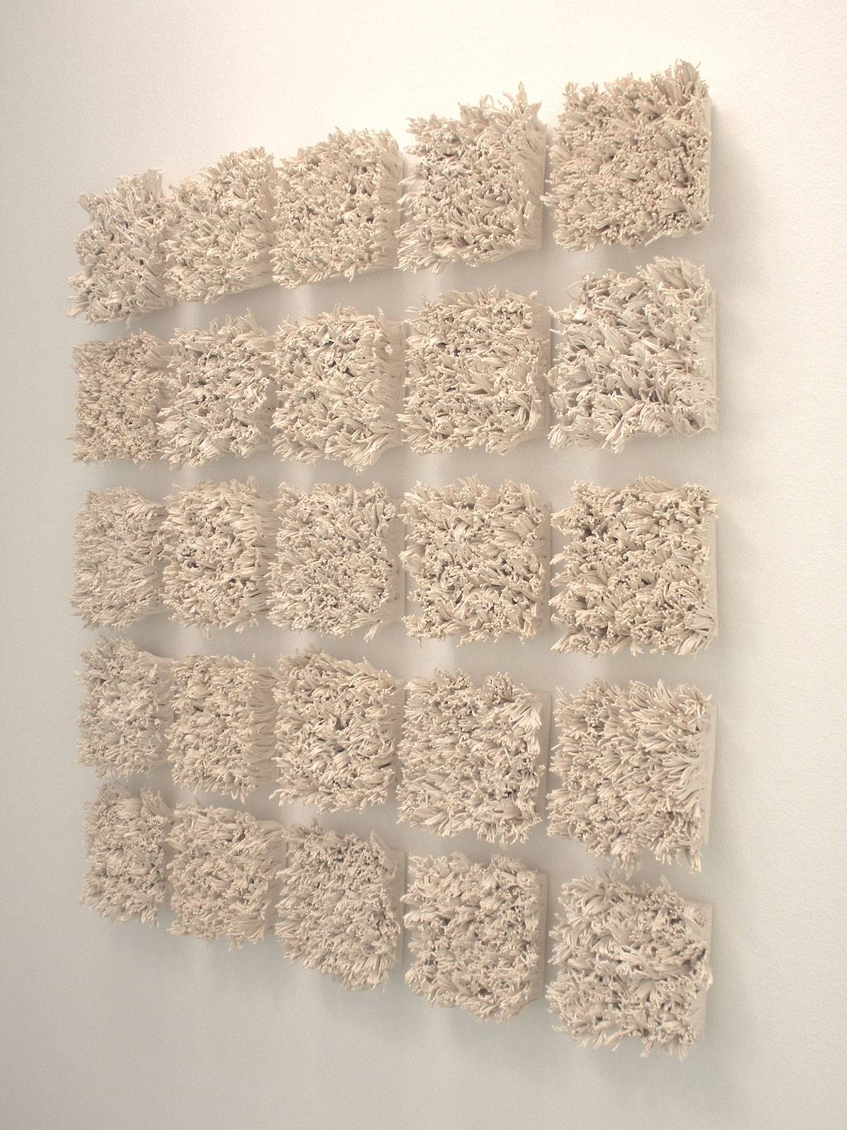 Bloom, Ceramic Tile Wall Installation On Behance Intended For Newest Ceramic Tile Wall Art (View 19 of 20)