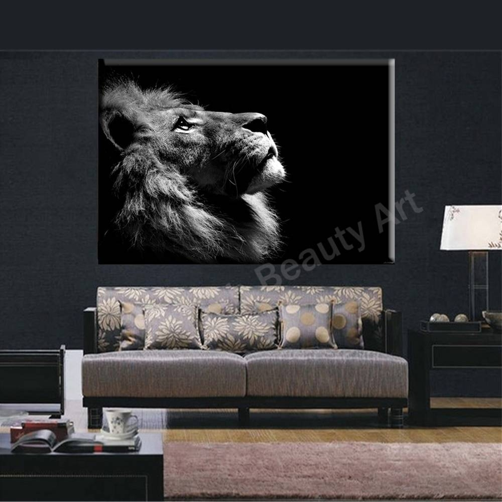 Bnpn Photography Lion Wall Art – Home Decor Ideas Throughout Best And Newest Lion Wall Art (View 2 of 20)