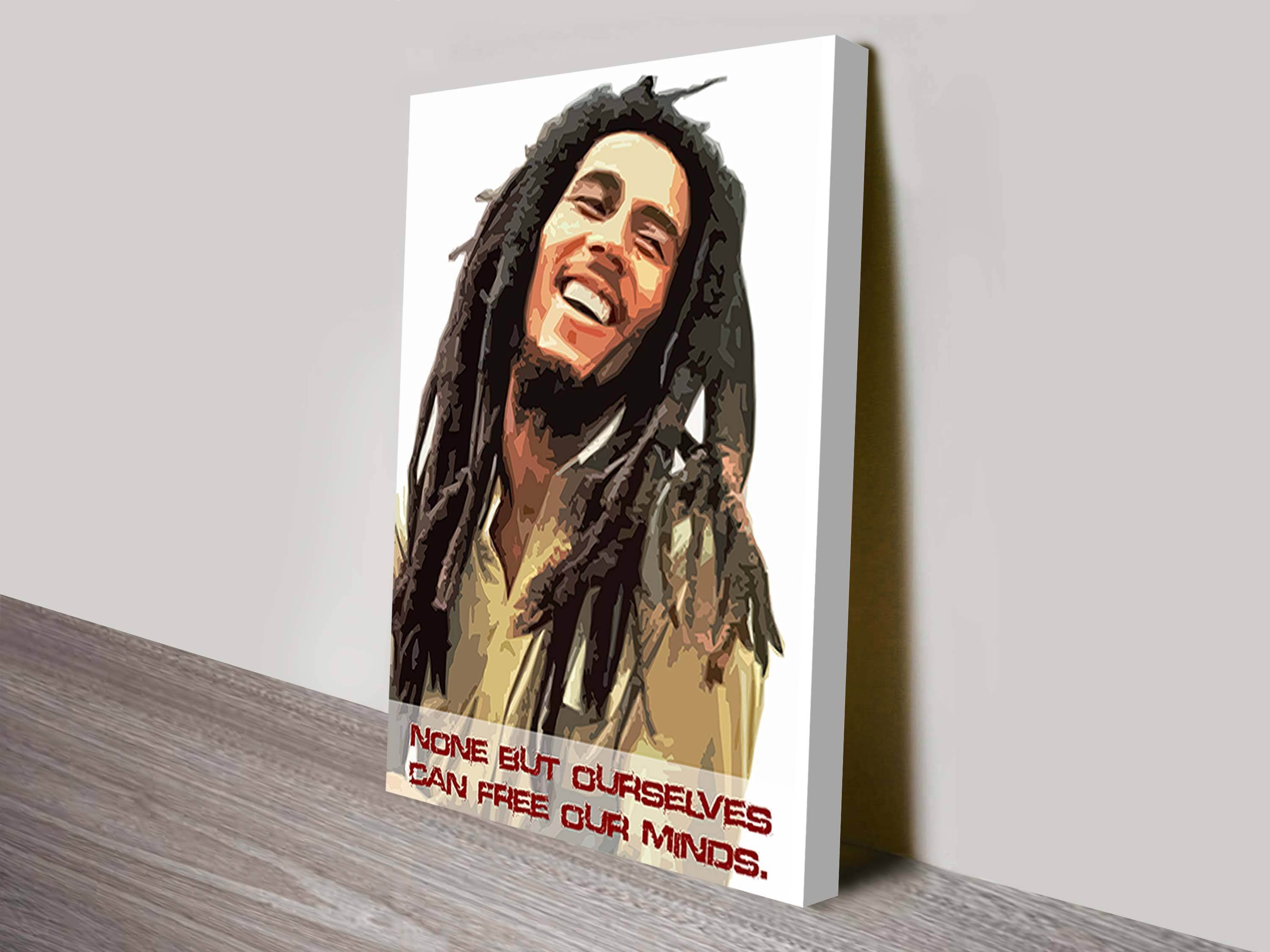 Bob Marley Art Canvas Art Prints Within Best And Newest Bob Marley Canvas Wall Art (Gallery 9 of 25)